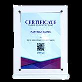 certificate rattinan medical center
